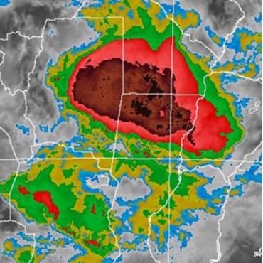 Alerta meteorológica por tormentas fuertes para centro y norte de Santa Fe