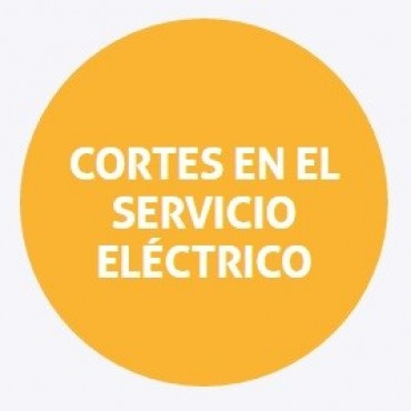 Cortes de energía programados para el viernes en Santo Tomé y Alto Verde