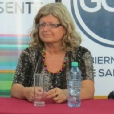 Claudia Balagué se mostró disconforme con la no apertura de paritarias a nivel nacional