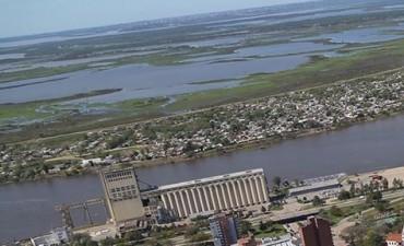 El río Paraná superó los 4 metros y medio