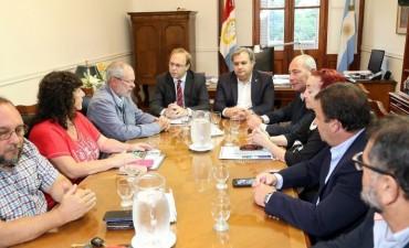 La provincia convoca a los gremios estatales a la segunda reunión paritaria