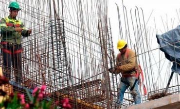 La construcción creció diecinueve por ciento en enero