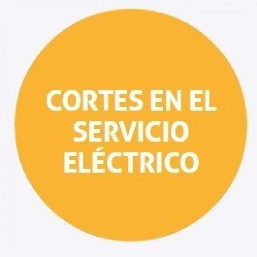 Corte de energía programado para San José del Rincón