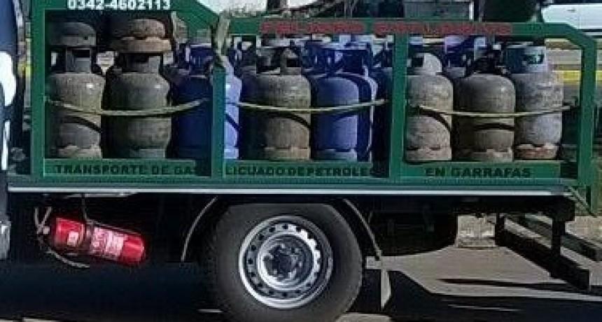Venta de garrafas a precio diferencial programada para el viernes en Santo Tomé