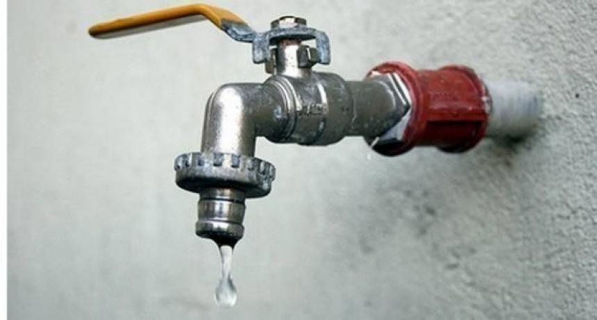 Corte de agua programado para el martes en barrio Facundo Quiroga