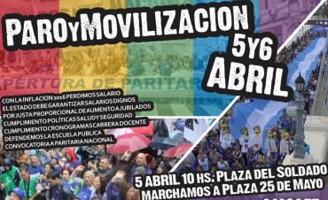 Amsafé marcha a la plaza 25 de Mayo