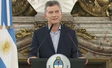 El presidente inaugura el Foro Económico Mundial en Buenos Aires