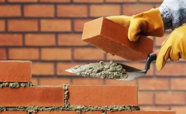 La venta de insumos para la construcción creció once por ciento interanual