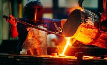 La producción fabril retrocedió nueve por ciento durante febrero