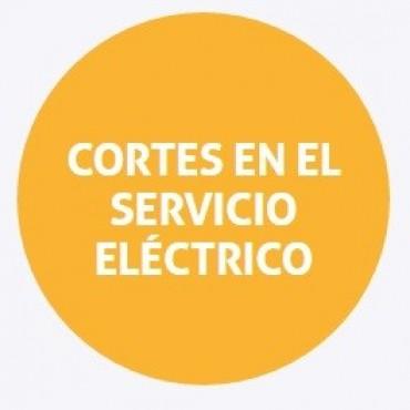 Cortes de energía programados para el jueves en Santa Fe