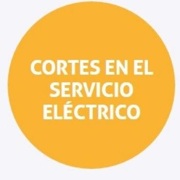 Corte de energía programado para el viernes