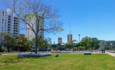 La Plaza Alberdi será reinagurada el sábado