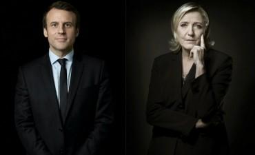 La presidencia de Francia se definirá entre Macron y Le Pen