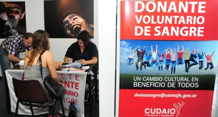 Más de cinco mil santafesinos donaron sangre en colectas voluntarias el año pasado