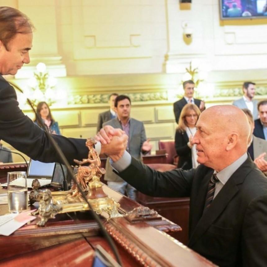 Antonio Bonfatti fue reelecto como presidente de la Cámara de Diputados