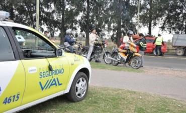 Vialidad Provincial registró 24 alcoholemias positivas durante el fin de semana
