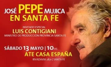 Pepe Mujica visitará la ciudad de Santa Fe
