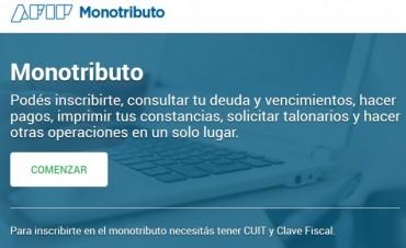 Los monotributistas tienen una página web exclusiva para simplificar sus trámites
