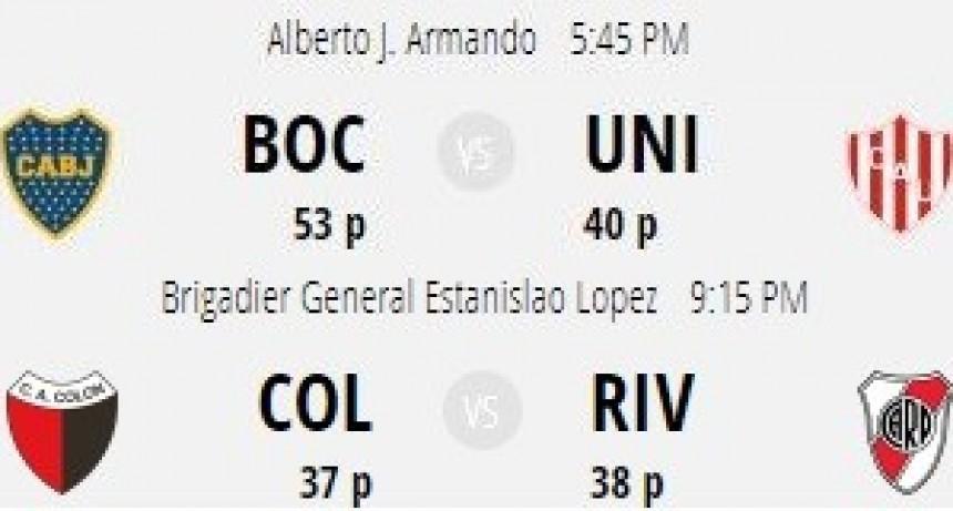 Fixture para los equipos santafesinos en la última fecha de Superliga
