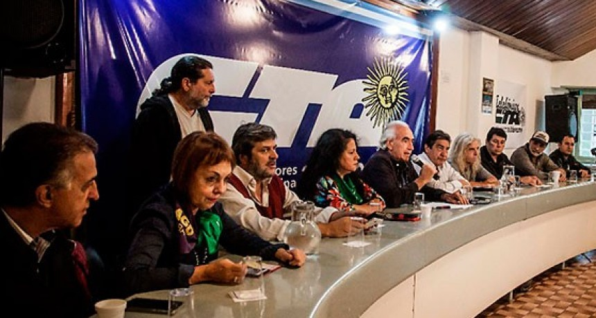 La CTA Autónoma ratificó el paro nacional con movilización previsto para el jueves