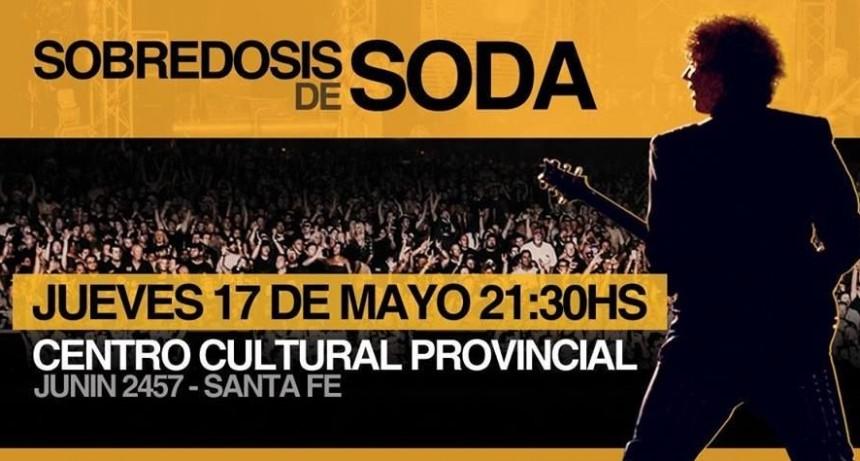 Sobredosis de Soda se presenta este jueves en el Centro Cultural