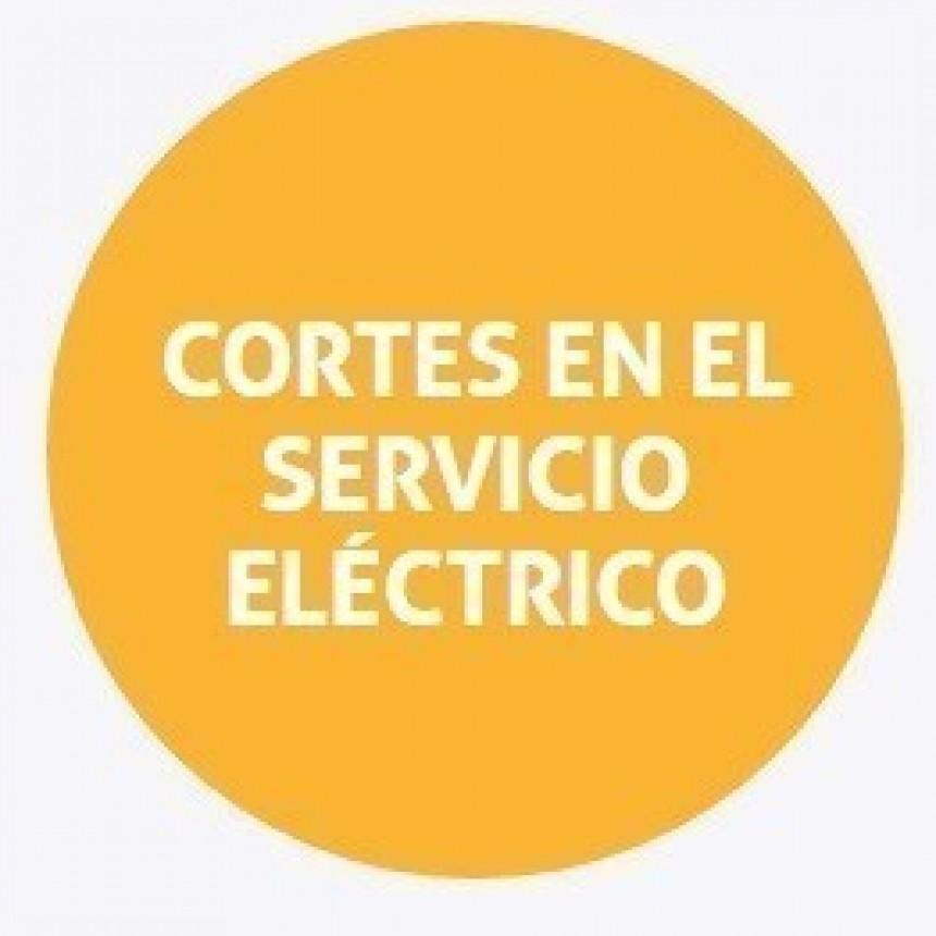 Cortes de energía programados para el martes en el norte de la ciudad