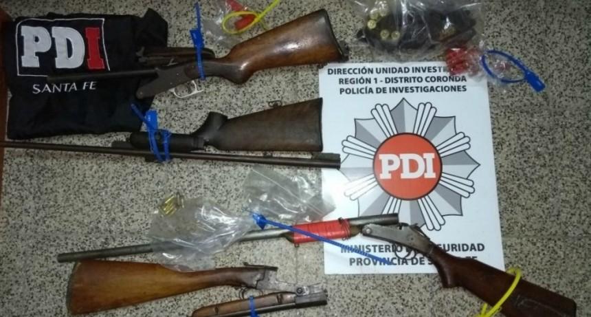 La PDI detuvo a cinco personas en allanamientos realizados en Coronda