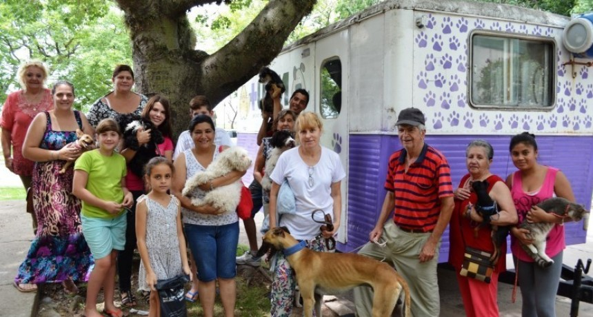 Castración de mascotas en vecinal Iriondo de Santo Tomé