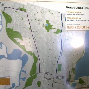 El Municipio dispondrá dos líneas de colectivos para unir el norte con Tecnópolis