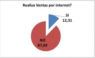 Sólo un 12 por ciento de los comercios santafesinos vende sus productos a través de la web