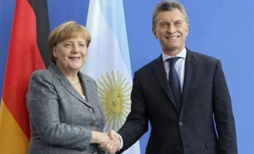 Comienza la visita oficial de Angela Merkel a la Argentina