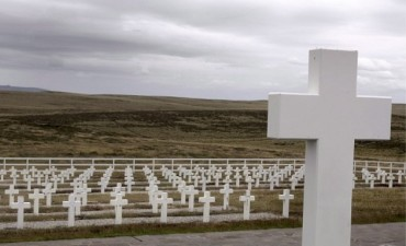 Comienza la identificación de los restos de soldados argentinos en Malvinas