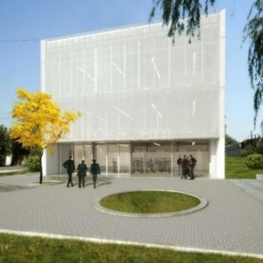 La obra de la Mediateca presenta un avance de 25 por ciento en Santa Rosa de Lima