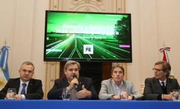 La Provincia administrará la autopista Santa Fe - Rosario a través de un fideicomiso