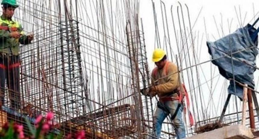 La construcción creció catorce por ciento en abril