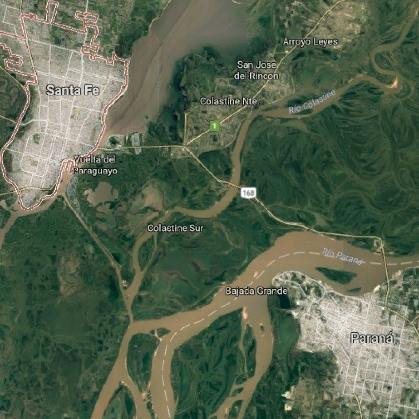 Vecinos de Paraná y Santa Fe se movilizarán contra la traza del puente
