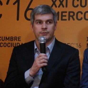 Marcos Peña visita Santa Fe para respaldar a los candidatos locales de Cambiemos