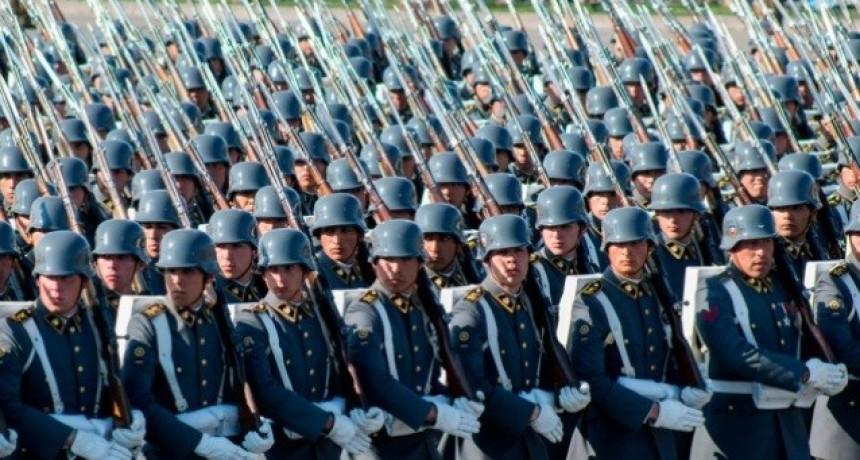 Aumento salarial de veinte por ciento para las Fuerzas Armadas