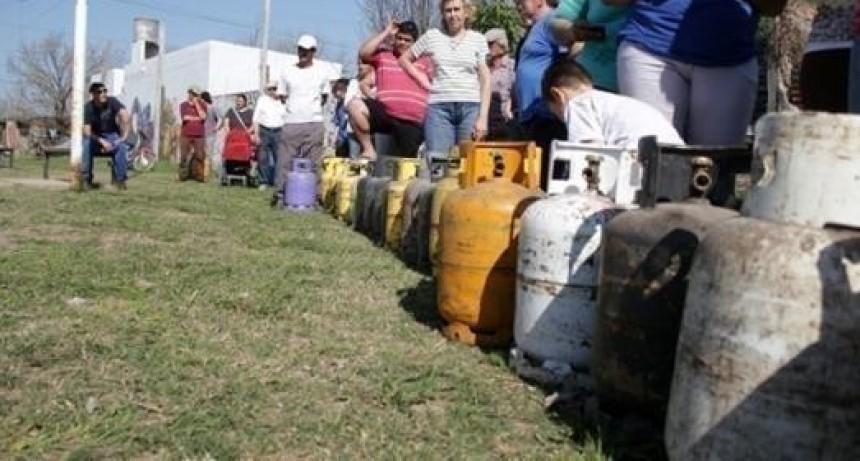 Venta de garrafas a precio diferencial programada para el lunes en Santo Tomé