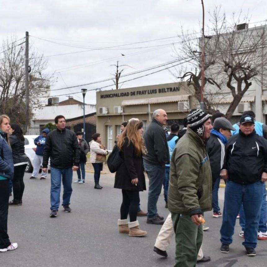 Festram define el plan de lucha tras los despidos en Fray Luis Beltrán