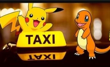Un taxista porteño ofrece recorridos para los jugadores de Pokemon Go