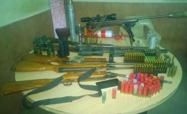 La URI secuestró más de 60 armas de fuego en julio