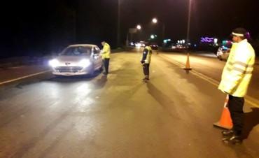 La Agencia de Seguridad Vial fiscalizó más de mil vehículos durante el fin de semana