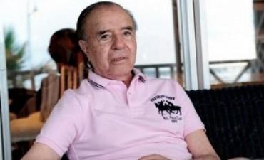 Carlos Menem apeló su impugnación ante la Corte Suprema