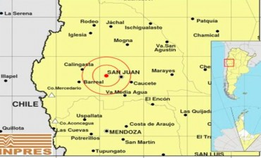 Una cadena de sismos se registró en San Juan entre sábado y domingo