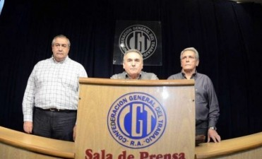 La CGT ratificó la marcha del martes próximo