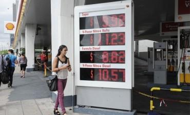 El aumento de combustibles previsto para noviembre rondaría cuatro o cinco por ciento