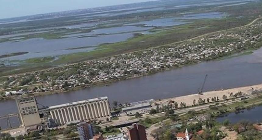 El Paraná comenzó a crecer