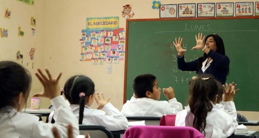 Educación confirmó la continuidad del Fondo de Incentivo Docente