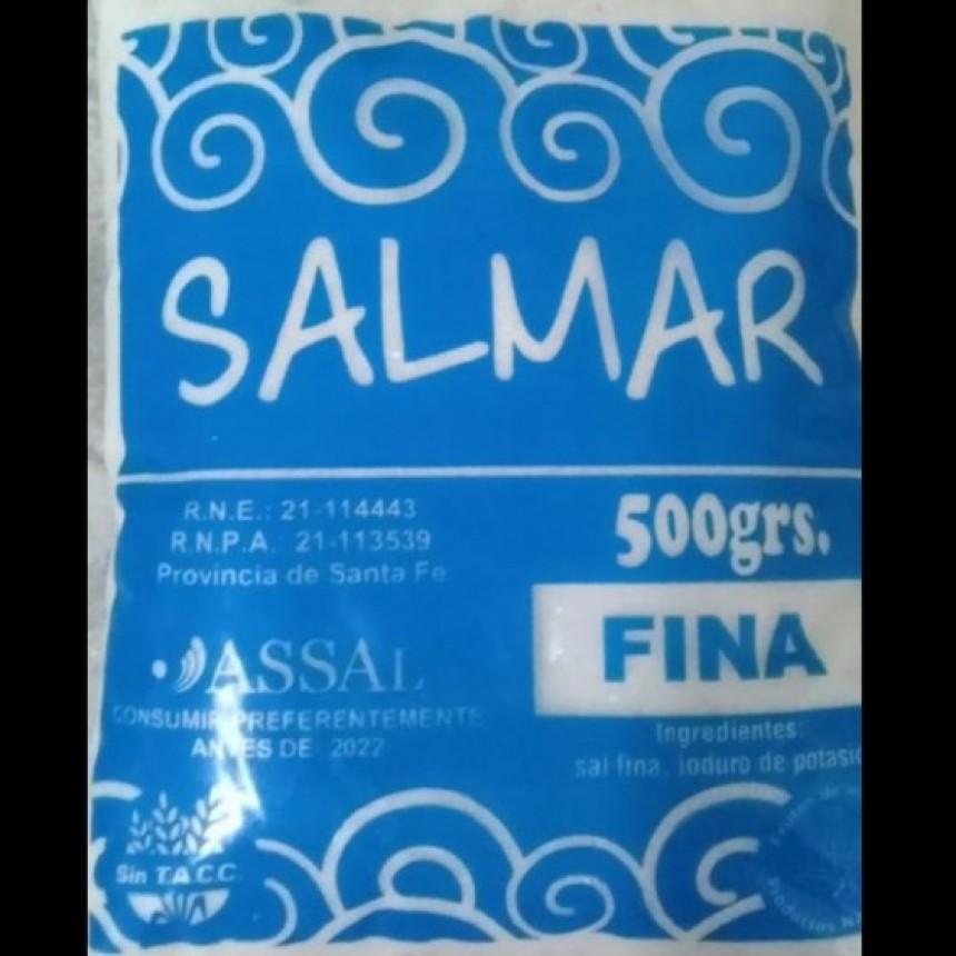 """La Assal prohibió la sal de la marca """"Salmar"""""""